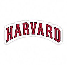 'Harvard Sticker' Sticker by kaylee-grace