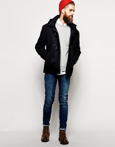 thedapperproject:  urbnite: Scotch and Soda Duffle Coat