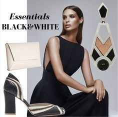 Mint inspiration: Black & White Essentials!