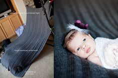 Pull Back Newborn Session Setup by lovelybaby / babycardexpressions, via Flickr