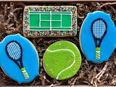 Tennis anyone? #tastytreatsbyteri #cookiesofinstagram #royalicingcookies #lasvegasbaker #cookieart #decoratedcookies #tenniscookies…