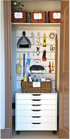 How To Create a Well Organized Utility Closet