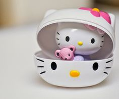 I have no idea what this product is but I love it and I want one!  J'adore Hello Kitty
