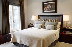 Classy masculine bedroom