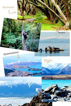 Neuseeland Rundreise in 4 Wochen - Nord- und Südinsel