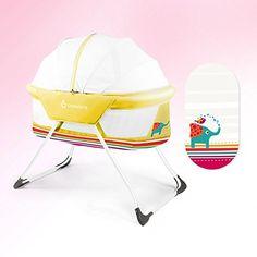 Self-Conscious Serta Icomfort Infant Crib Bassinet Foldable Co-sleeper Baby Bed Music/light Bassinets & Cradles