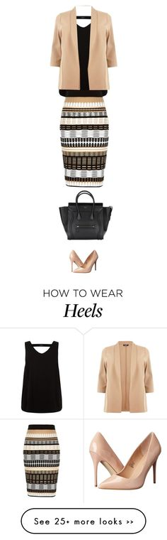 """""""to work"""" by ecem1 on Polyvore featuring River Island and Madden Girl"""