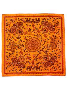 Vintage Hermes scarf Carre Kantha