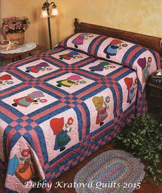 Debby Kratovil Quilts: Revisiting Sunbonnet Sue - and Free Pattern