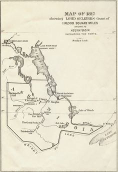 Map of hudsons Bay fur trading posts trade routes for Hudsons