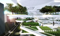 As we get smarter about creating automated systems for growing plants indoors, it become a natural extension of of building design to incorporate these features into tomorrow's architecture.