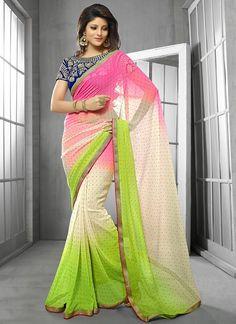 Pretty Chiffon Saree