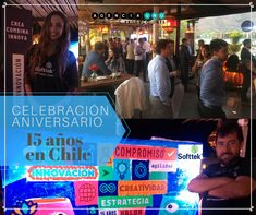 """Celebración Aniversario """"15 años en Chile"""" de nuestro cliente Softtek. Nos encargamos de la organización y producción de eventos corporativos.  Nuestro compromiso y cobertura es total. Contáctanos al 📲 +569 8361 1949 o escríbenos a: info@a1producciones.cl www.a1producciones.cl . . #agencia1producciones#celebraciónaniversarioempresa#eventoagencia1producciones#celebracioncorporativa#eventoscorporativos#eventoempresa #aniversarioempresa#fiestaaniversarioempesa #producción audiovisual #totem Ideas Para, Chile, Broadway Shows, Instagram, Frosting, Corporate Events, Video Production, Event Organization, Engagement"""