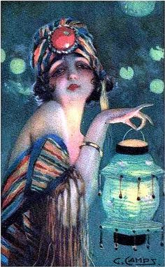 Gaspar Camps Igualada - Barcelona was a painter, draftsman, Art Nouveau illustrator and poster artist Illustrations Vintage, Art Deco Illustration, Art Nouveau, Drame Romantique, Alphonse Mucha, Ecole Art, 1 Tattoo, Art Japonais, Art Deco Posters