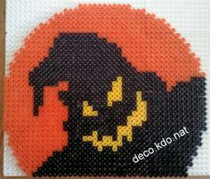 Halloween ghost hama perler by deco.kdo.nat