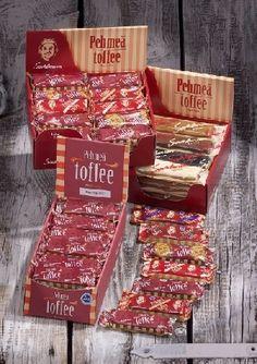 Sahlman Toffee <3 -Suklaa, salmiakki, minttu, laku, minttusuklaa ja kahvi.