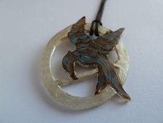 Hunger Games Mockingjay DIY Pendant