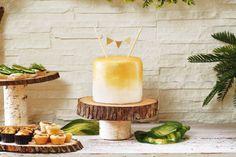 Minimalist Gold Cake