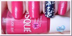 esmaltes nacionais pink fluor risqué  diana impala isis valverde e magia ludurana  #nailpolish #esmaltesempre
