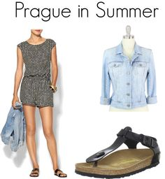 What to Wear in Prague: Summer: With so many options of weekend city breaks available while living in England, I'm day dreaming of all the fun travel opportunities available! Here are a few fun travel outfit ideas about what to wear in Prague!