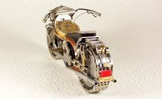 Watches Transformed Into Intricate Motorcycles!!! #Steampunk