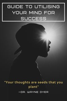 Simplified guide to using your thoughts for success. The power of the mind. Wayne Dyer, Self Help, Personal Development, Need To Know, Mindfulness, Success, Teaching, Thoughts, Life