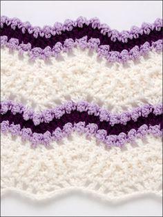 50 Ripple Stitches - Crochet Pattern