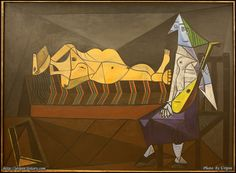 The Musée National Picasso-Paris at its ongoing exhibit showcases 10 masterpieces that were offered by Picasso to the Musée National d'Art Moderne at the Hôtel Salé in Pablo Picasso, Art Picasso, Picasso Paintings, Pompidou Paris, Creative Artwork, Art Moderne, Figurative Art, Les Oeuvres, Art History