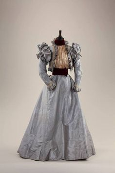 Day dress, 1890's From the collection of Alexandre...