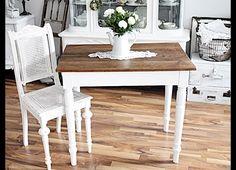 Vintage Tische - antiker Tisch Gründerzeit - ein Designerstück von Feuersonnenblume bei DaWanda