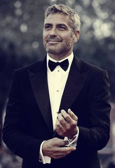 George Clooney  This man just gets better and better looking.