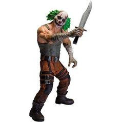 NOS DC Collectibles Batman: Arkham City: Series 3 Clown Thug with Knife Action Figure Great Condition. -Based on the blockbuster Batman: Arkham City video game Batman Comic Books, Batman Comics, Comic Book Heroes, Dc Comics, Batman Art, Batman Robin, Comic Art, Batman Arkham City, Gotham City