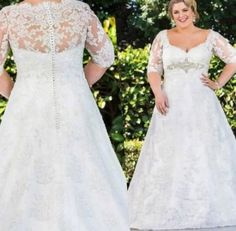 Wedding Dresses For Curvy Women Plus Size Style 44+  Ideas