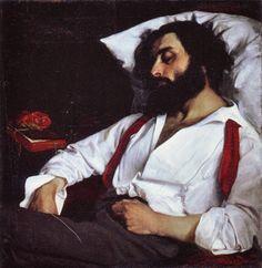 Sleeping Man By Carolus-Duran, 1861