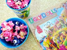 UglyDolls Popcorn and How to Host an UglyDolls Movie Night at Home Family Movie Night, Family Movies, Family Games, Gabriel Iglesias, Hidden Figures, Air Popped Popcorn, Ugly Dolls, Popcorn Recipes, Universal Pictures