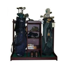 1000 images about rangement sac golf on pinterest golf for Rack rangement garage