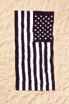 American Flag Beach Towel!! $29
