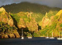 Iles marquises Polynésie