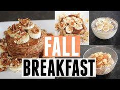 EASY Fall Breakfast Ideas | Vegan - YouTube