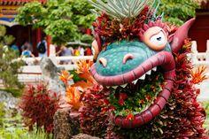 Dragon Epcot China Pavilion #waltdisneyworld #disney