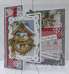 Marianne Design, Paper Crafting, Cardmaking, Advent Calendar, December, Scrap, Create, Holiday Decor, Home Decor