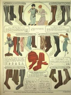 1920s tights