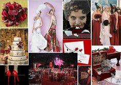 Moulin Rouge Wedding Theme