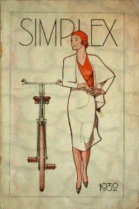 Simplex folder 1932 #vintage #bikes #artnouveau