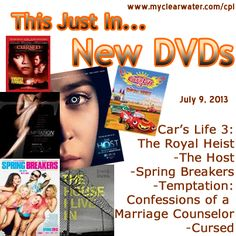 New DVDs July 9, 2013