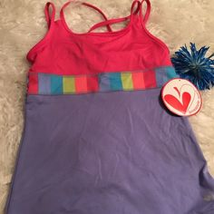 Swim top New with tags. Fun for spring and summer. Limeapple sports Swim Bikinis