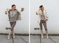 love the monochromatic-ness of this outfit - http://closetvisit.com/