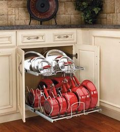 #13 NESTLE LID RACKS IN YOUR CABINETS