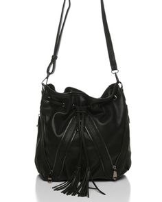 Melie Bianco Gina Drawstring Bucket Bag $75