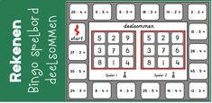 Juf Shanna - Pagina 28 van 122 - Doe eens gek, creëer je eigen mogelijkheden... Related Post, Bingo Games, Scandal Abc, Table Games, Board Games, 3 D, Periodic Table, Boards, School